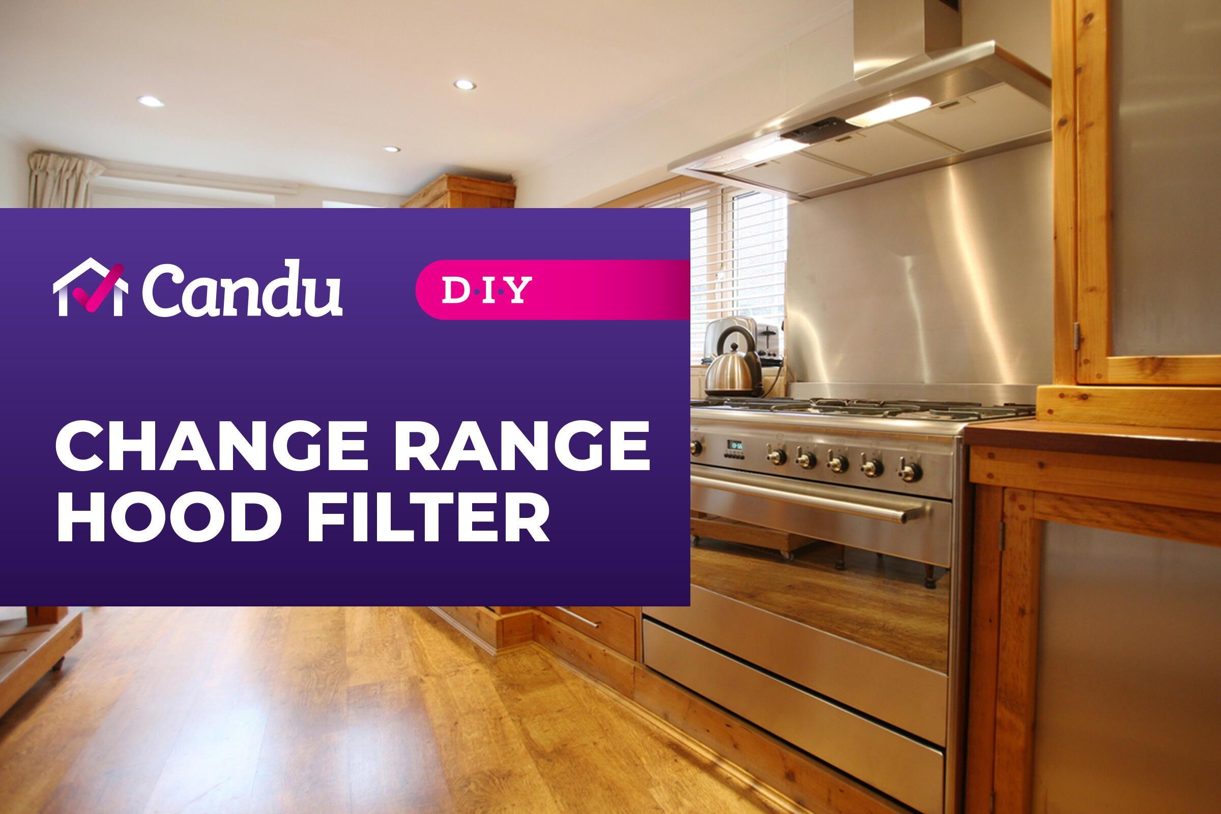 change range hood filter