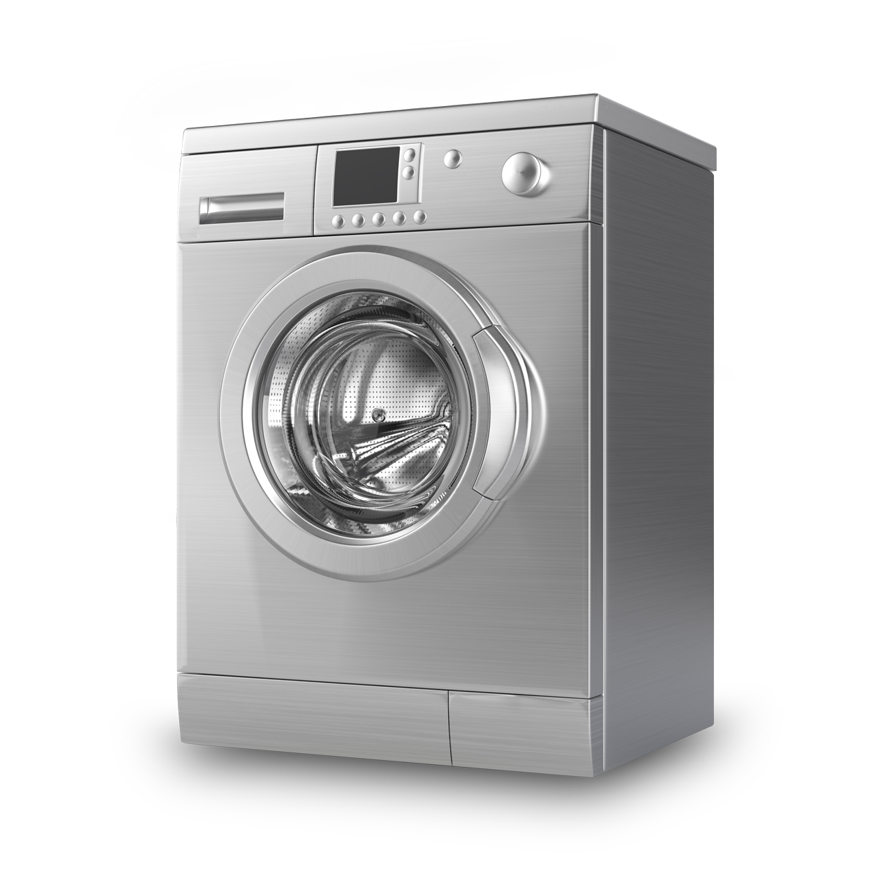 Stainless steel GE clothes dryer