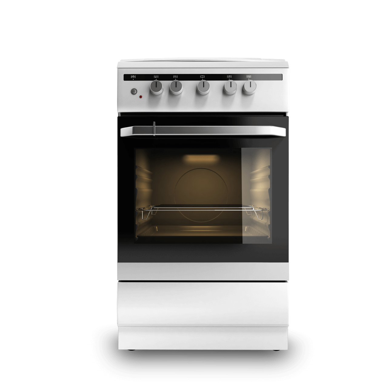 Stainless steel GE oven