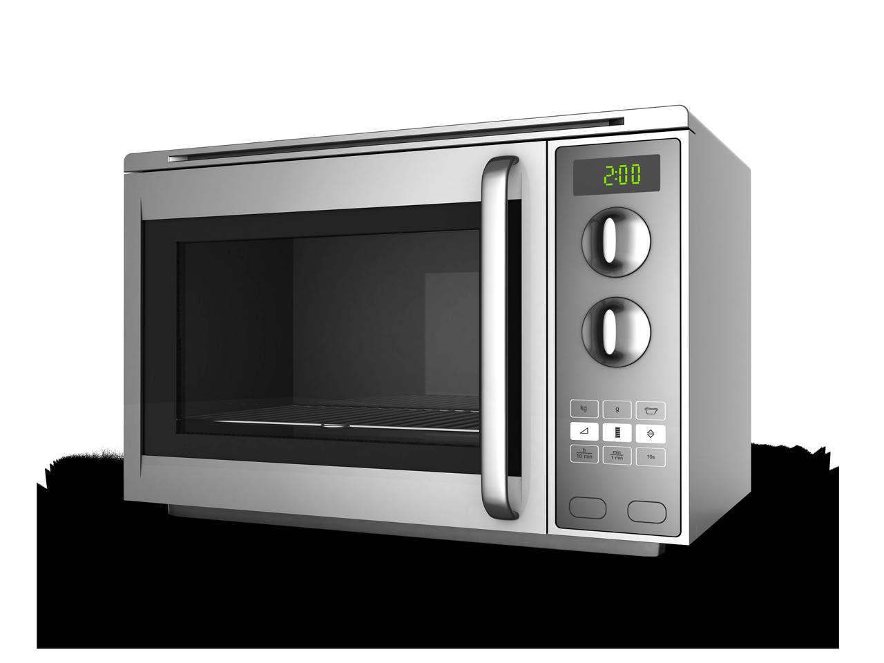 Stainless steel GE microwave